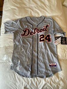 MAJESTIC AUTHENTIC 48 DETROIT TIGERS MIGUEL CABRERA COOLBASE JERSEY NWT