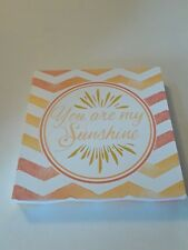You Are My Sunshine Wall Art Plaque Sign Wall Home Decor Nursery Decor
