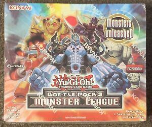 Yu-Gi-Oh! Battle Pack 3 Monster League Konami Trading Card Game 36 Packs Sealed