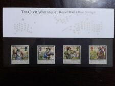 (11) - UK Mint Stamps in Presentation Pack - The Civil War - 1642 - 51