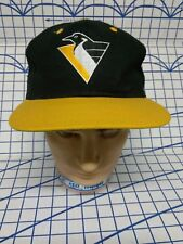Vintage Pittsburgh Penguins snapback competitor cap hat NHL New old stock