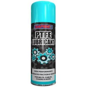 300ml PTFE Grease Aerosol Spray Lubricant Can Chains Belts Cables Oil