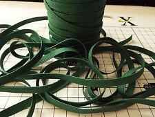 3m -Bottle Green, Flat, Elastic - Width - 7mm