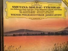 Smetana:  Moldau-Vysehrad music CD.  Wiener Phalharmoniker with James Levine