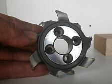 N°R2 molette fers de toupie SCHIAVON,machine à bois- alésage 20 mm SHAPER CUTTER