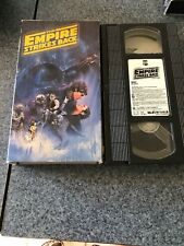 Star Wars The Empire Strikes Back Cbs Fox Theatrical Cut Vhs 1990