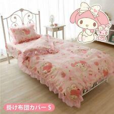 My Melody Bed cover single twin comforter Sanrio Kawaii Hello Kitty anime japan