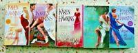 5 KAREN HAWKINS HISTORICAL ROMANCE BOOKS NO DOUBLES FREE SHIPPING