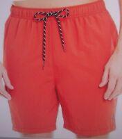 New TOMMY BAHAMA Naples Happy Go Cargo Red Hot swim trunks 2XB 3XB 4XB