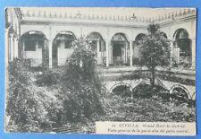 Postcard c.1900, Sevilla: Grand Hotel de Madrid patio central