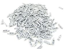 LEGO Light Bluish Gray Hinge Plate 1x2 Locking Finger On End Lot of 100 Parts