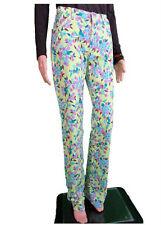 JEAN PAUL GAULTIER Ladies Floral Print Casual Trousers Pants sz IT28 UK14 AN83