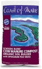 Coast of Maine S1 Schoodic Blend Cow Manure Compost, 1 cu ft