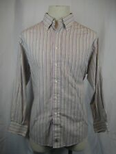 Men's Nordstrom Cotton 2X2 Pinpoint Varied Stripe LS Dress Shirt size 17-33