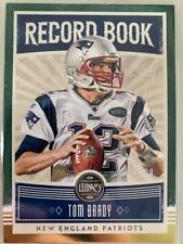 Tom Brady 2020 Legacy Record Book Green New England Patriots 54/100 C29