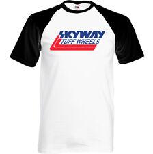 Skyway Tuff Ruedas - Hombre Retro BMX Camiseta Ciclismo Bandit Moto Mangosta/MTB