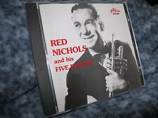 "RED NICHOLS AND HIS FIVE PENNIES CD ""BATTLE HYMN OF THE REPUBLIC"" RARE JAZZOLOG"