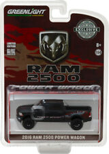 Greenlight 1/64 2016 RAM 2500 Power Wagon Matte Black HOBBY EXCLSUIVE 29901