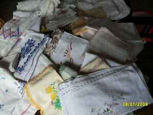 antike und alte Wäsche, riesiges Konvolut, viel Handarbeit, shabby chic
