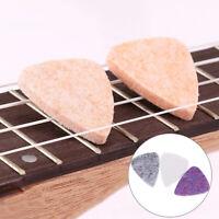 5 Pz Morbido Duro Ukulele Feltro Picks Mandolino Plettri per chitarra AccessoCRI