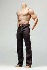 mc0321 Purple Relaxed Straight Long Pants for 1:6 1/6 Action Figure