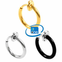 Spring Action Non-Piercing Nose Ring Body Jewellery
