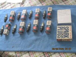 8 NOS AC GREEN RING 46N 1965-1968 CHEVROLET 396 SPARK PLUGS-5612630