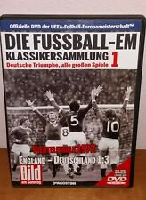 DVD Fußball-EM Viertelfinale 1972  England-Deutschland