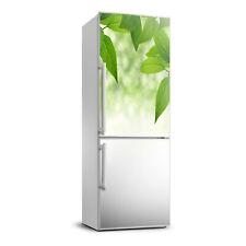 3D Art Refrigerator Kitchen Removable Sticker Magnet Flowers Plants Green leaves