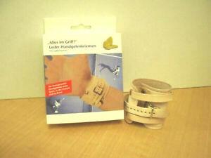 Leder Handgelenkriemen verschiedene Ausführungen Handgelenksbandage Bandage