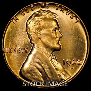 1960-D Small Date Lincoln cent penny - GEM BU quality!