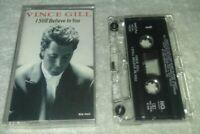 I Still Believe in You by Vince Gill Cassette, Sep-1992, MCA Nashville