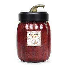 GOOSE CREEK Duftkerze im Glas PUMPKIN CARAMEL SWIRL 623 g