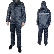 Completo Giacca+pantalone impermeabile pioggia vento motocicletta scooter moto