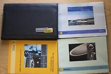 RENAULT MEGANE II OWNERS MANUAL HANDBOOK WALLET 2006-2008 PACK 11403