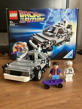 Back to the Future Lego #21103 DeLorean Time Machine CUUSOO #004