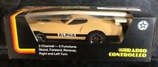 Latrax Rare Radio Controlled ALPHA RCX Vintage Rc Car Tan CP-011 Remote