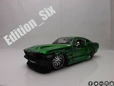 Maisto 1:24 1967 Ford Mustang GT Green HotRod American Muscle sports car