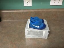 BABY BOYS Nike Waffle 1 Shoes, Blue - Size 1C 705372-400 (CON15)