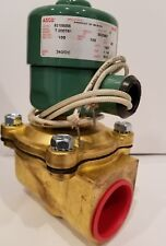 "8210B055 ASCO Valve Air 100PSI Water 100PSI Lt Oil 80PSI 240DC 1-1/4"""