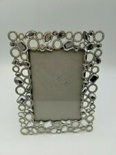 Metal and clear stones frame 4x6
