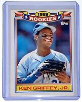 1990 TOPPS GLOSSY 1989 ROOKIES #11 KEN GRIFFEY JR. RC VERY CLEAN CONDITION 💎