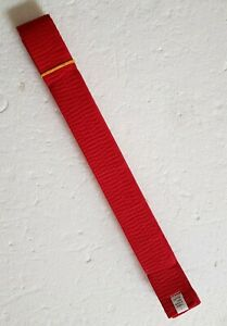 Red Martial Arts Belt Size 7 New Karate Tae Kwon Do Kenpo