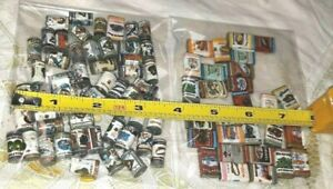 """OLD VINTAGE SHACKMAN DOLLHOUSE SHOP GROCERY STORE MINIATURE """"CANNED"""" FOOD LOT"""