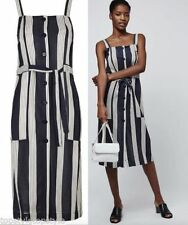 Viscose Casual Striped Topshop Dresses for Women