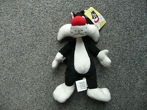 LOONEY TUNES - SYLVESTER CAT - BOOTS PLUSH SOFT TOY WITH TAGS