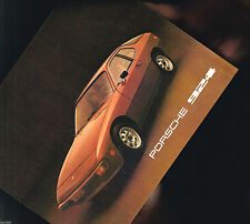 1977 Porsche 924 Brochure / Prospekt / Sheet
