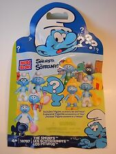 MEGA BLOKs 10757 Smurfs - Jokey Smurf (Mystery Blind Gift box) FACTORY SEALED