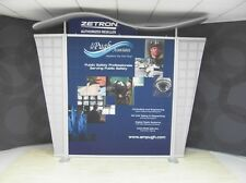10ft Modern Look SatSaver METAL TRADE SHOW DISPLAY - your graphics needed