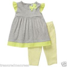 Carter's 2 Piece Outfit Tiered Tunic & Leggings Set  ~ Size 3 Months ~ NWT